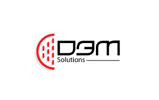 Cdem Solutions E-commerce Websites Logo Design
