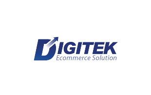 Digitek Ecommerce Solution E-commerce Websites Logo Design