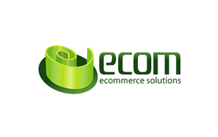 Ecom Ecommerce Solution E-commerce Websites Logo Design