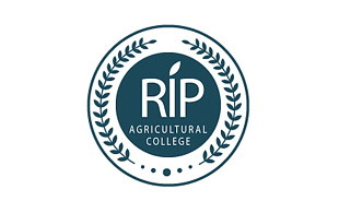 RIP Agricultural College Education & Training Logo Design