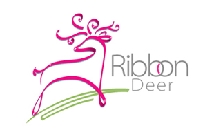 Ribbon Feminine Logo Design