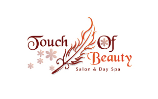 Touch of Beauty Feminine Logo Design