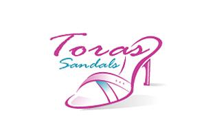 c918e12a179a9 ... Toras Sandals Feminine Logo Design ...