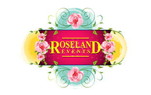 Roseland Events Floral & Decor Logo Design