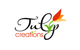 July Creations Floral & Decor Logo Design