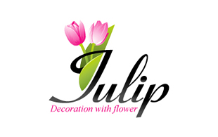 Tulip Floral & Decor Logo Design