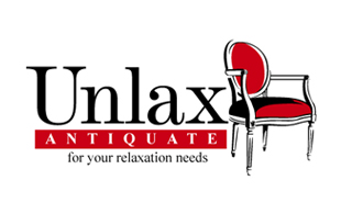 Unlax Antiquate for your relaxation needs Furniture & Fixture Logo Design