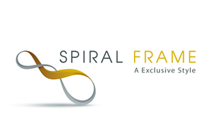 Spiral Frame A Exclusive Style Furniture & Fixture Logo Design