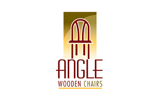 Angle Wooden Chairs Furniture & Fixture Logo Design