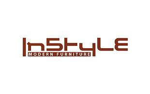 modern furniture logo. instyle modern furniture u0026 fixture logo design