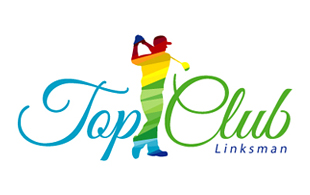 Top Club Linksman Golf Courses Logo Design