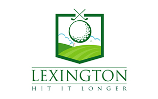 Lexington Hit It longer Golf Courses Logo Design