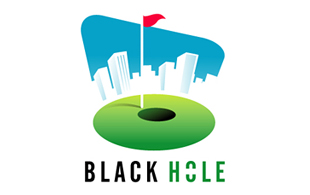 Black Hole Golf Courses Logo Design