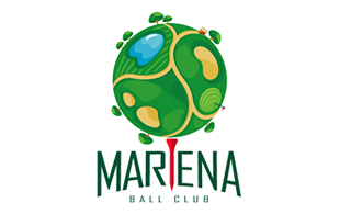 Mariena Ball Club Golf Courses Logo Design