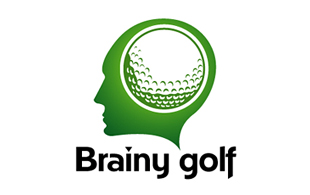 Brainy Golf Golf Courses Logo Design