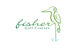 Fisher Golf Courses Golf Courses Logo Design