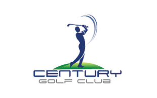 Century Golf Club Golf Courses Logo Design