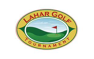 Lahar Golf Tournament Golf Courses Logo Design