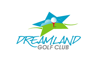 Dreamland Golf Club Golf Courses Logo Design