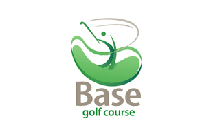 Base Golf Course Golf Courses Logo Design