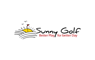 Sunny Golf Golf Courses Logo Design