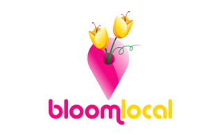 Bloomlocal Hi-Tech Logo Design