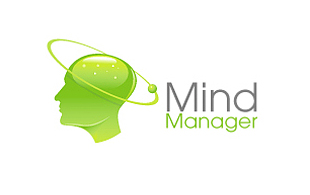 Mind Manager Hi-Tech Logo Design