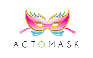Actomask Hi-Tech Logo Design