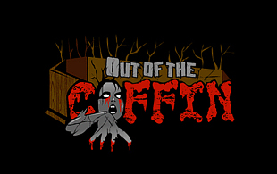 Out of the Coffin Horror Logo Design