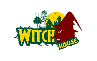 Witch House Horror Logo Design