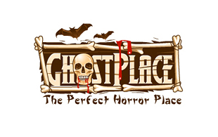 Ghost Place Horror Logo Design