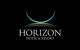 Horizon Hotel & Resort Hotels & Hospitality Logo Design