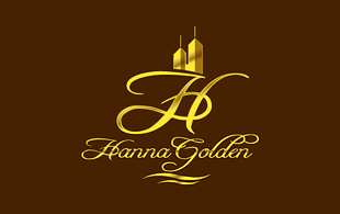 Hanna Golden Hotels & Hospitality Logo Design