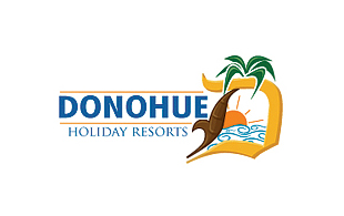 Donohue Holiday Resorts Hotels & Hospitality Logo Design