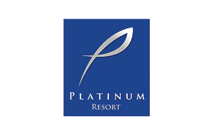 Platinum Resort Hotels & Hospitality Logo Design