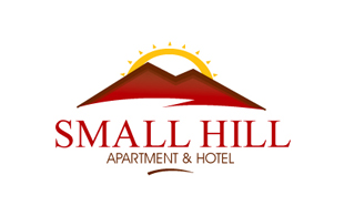 Small Hill Apartment & Hotel Hotels & Hospitality Logo Design