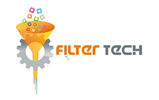 Filter Tech Iconic Logo Design