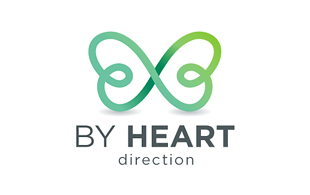 By Heart Iconic Logo Design