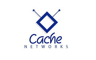 Cache Networks Iconic Logo Design