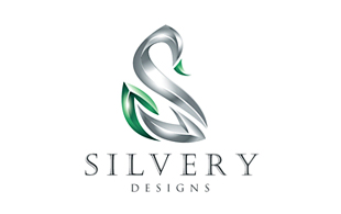 Silvery Iconic Logo Design