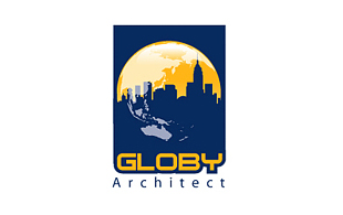Globy Architect Industrial Logo Design