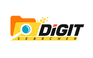 Digit Searcher Inspection & Detection Logo Design