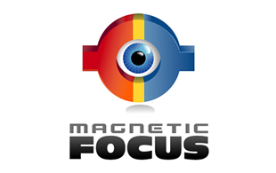 Magnetic Focus Inspection & Detection Logo Design