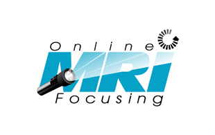 Online MRI Focusing  Inspection & Detection Logo Design