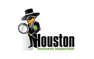 Houston Business Inspection Inspection & Detection Logo Design