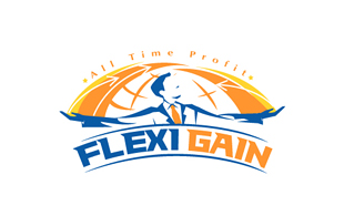 Flexi Gain Insurance & Risk Management Logo Design