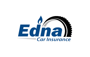 Edna Car Insurance Insurance & Risk Management Logo Design