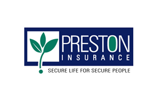 Preston Insurance Insurance & Risk Management Logo Design