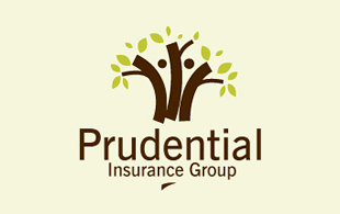Prudential Insurance Group Insurance & Risk Management Logo Design