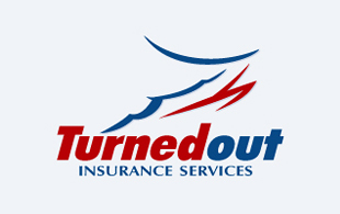 Turnedout Insurance Service Insurance & Risk Management Logo Design